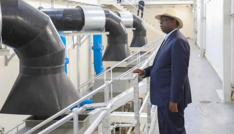 Macky Sall: « 1.250 milliards de FCfa investis, en 9 ans dans des ouvrages hydrauliques »