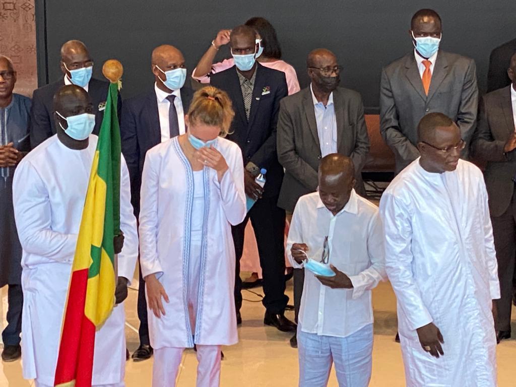JO de Tokyo: Mamadou Diagne Ndiaye galvanise les athlètes