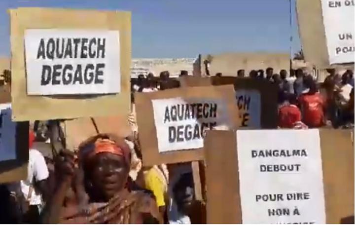 Gestion des ouvrages hydrauliques: La société Aquatech chassée de Mboro