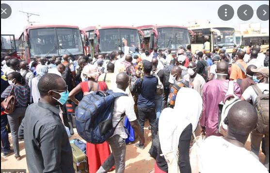 Tabaski 2021: Des voyageurs de « Sénégal Dem Dikk » vivent le calvaire