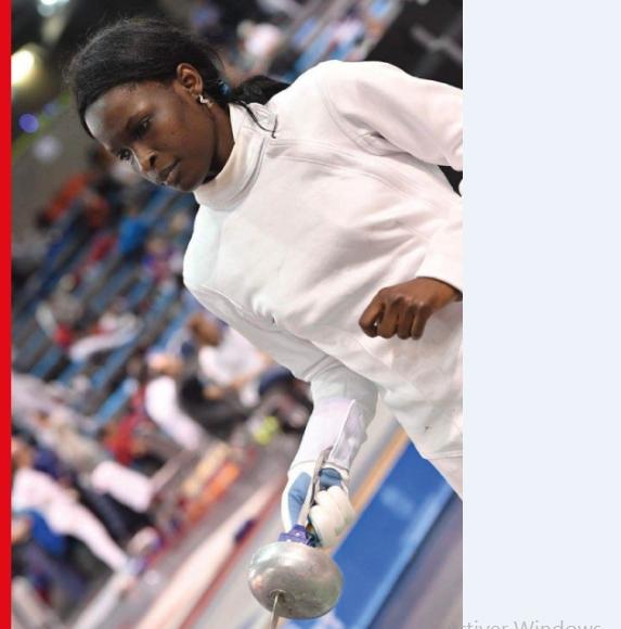 Qualifiée aux jeux olympiques d'escrime: Ndèye Bineta Diongue, une escrimeuse persévérante et dévouée en action