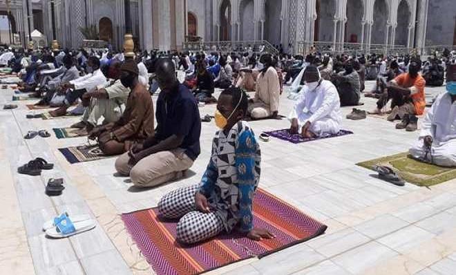 Massalikoul Djinane: Le protocole sanitaire a été bien appliqué aux abords de la mosquée