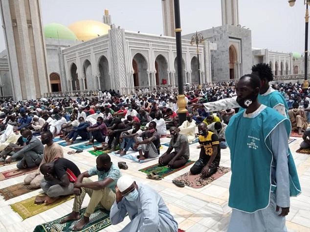 Tabaski à la mosquée Massalikoul Jinane: Mbackiyou Faye se réjouit de la réussite de l'organisation