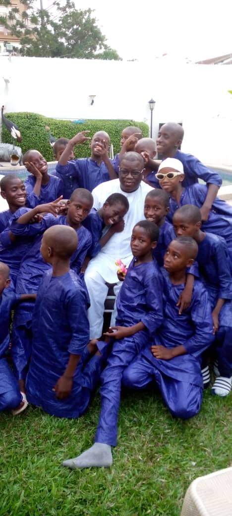 En images: La Tabaski des talibés de Ziguinchor chez leur papa de coeur, Abdoulaye Baldé
