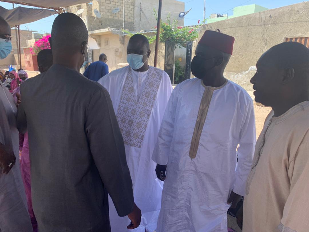 Saint-Louis: Malick Gackou et Moctar Sourang présentent leurs condoléances à Déthié Fall