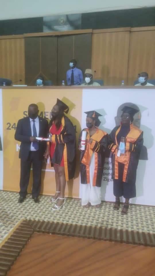 Remise de diplômes: Abdoulaye Baldé désormais parrain de l'IPP