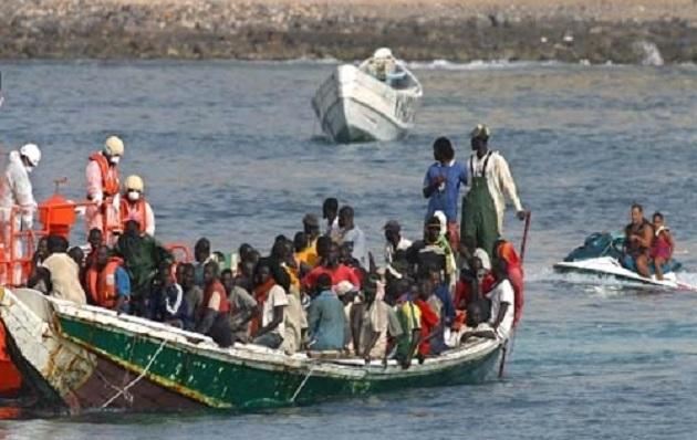Migration clandestine: La marine sénégalaise intercepte une pirogue de 71 migrants