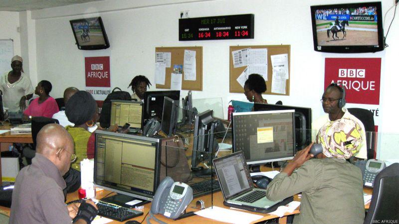 Covid-19: Sept cas de dénombrés à BBC Afrique, basé à Dakar