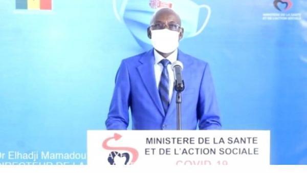 Covid-19: Le Sénégal enregistre 18 décès, 518 nouveaux cas positifs, dont un cas importé et 55 graves