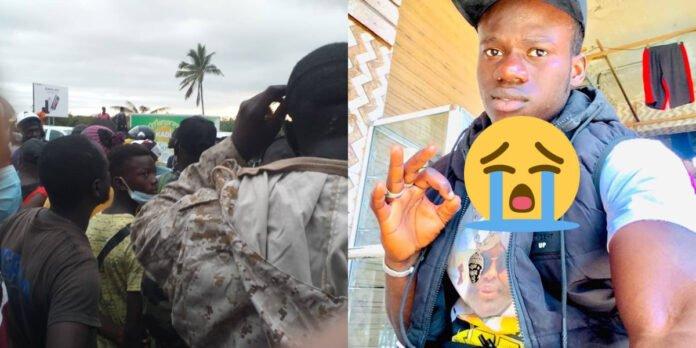 Accident: Un camion tue Fallou Badji, membre de la garde rapprochée de Serigne Modou Kara Mbacké