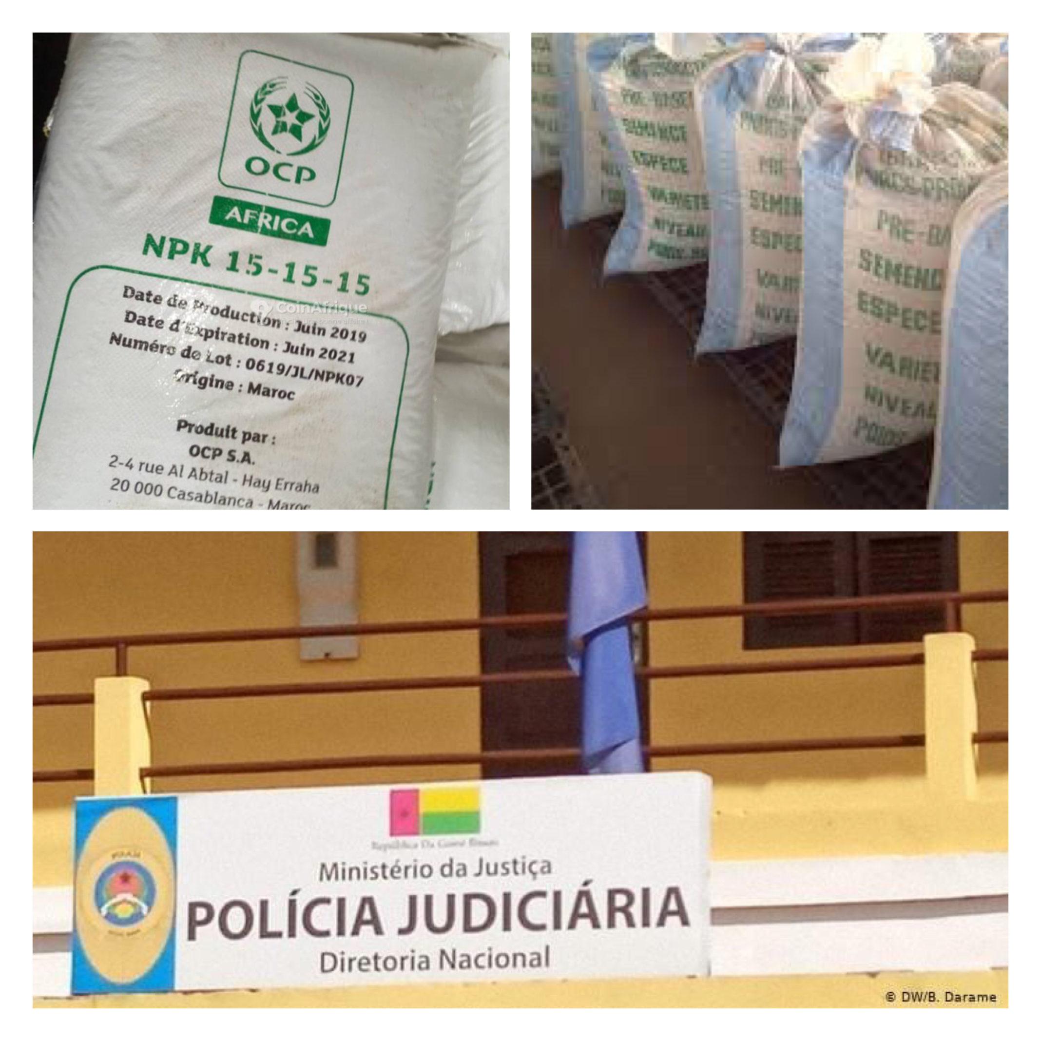Exclusivité – Guinée Bissau : La Police judiciaire met la main sur plusieurs centaines de sacs de semences certifiées offertes par….Macky Sall
