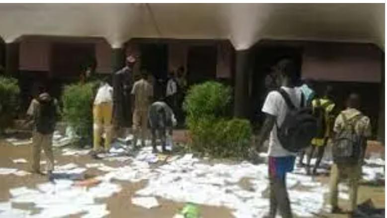 31 adolescents du village de Diamwély en fuite aprés le saccage de l'école dudit village