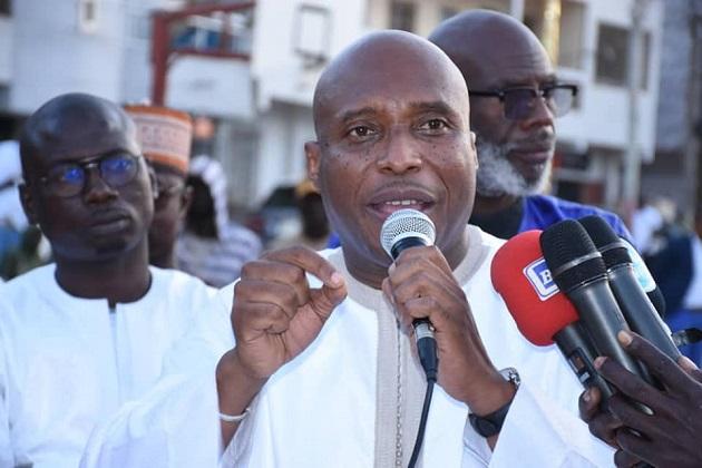 Mairie de Dakar: «Nous n'accepterons pas d'aller dans une période de contentieux sans le fichier électoral», Barthélémy Dias