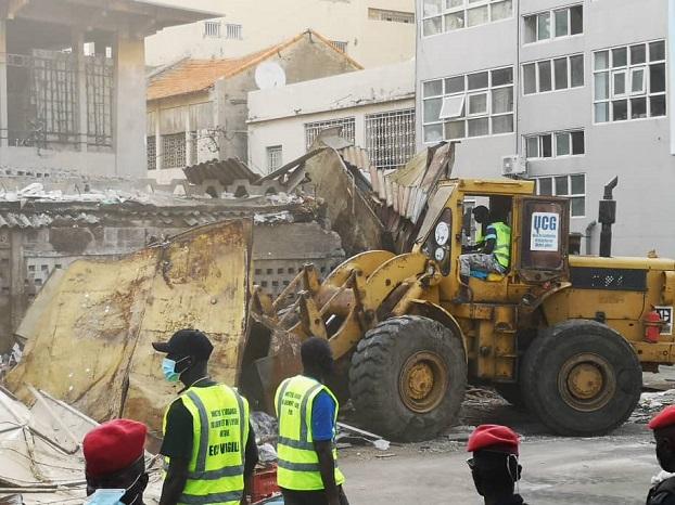Bâtiment central du marché Sandaga écrasé: Grosse colère de l'architecte Jean Charles Tall
