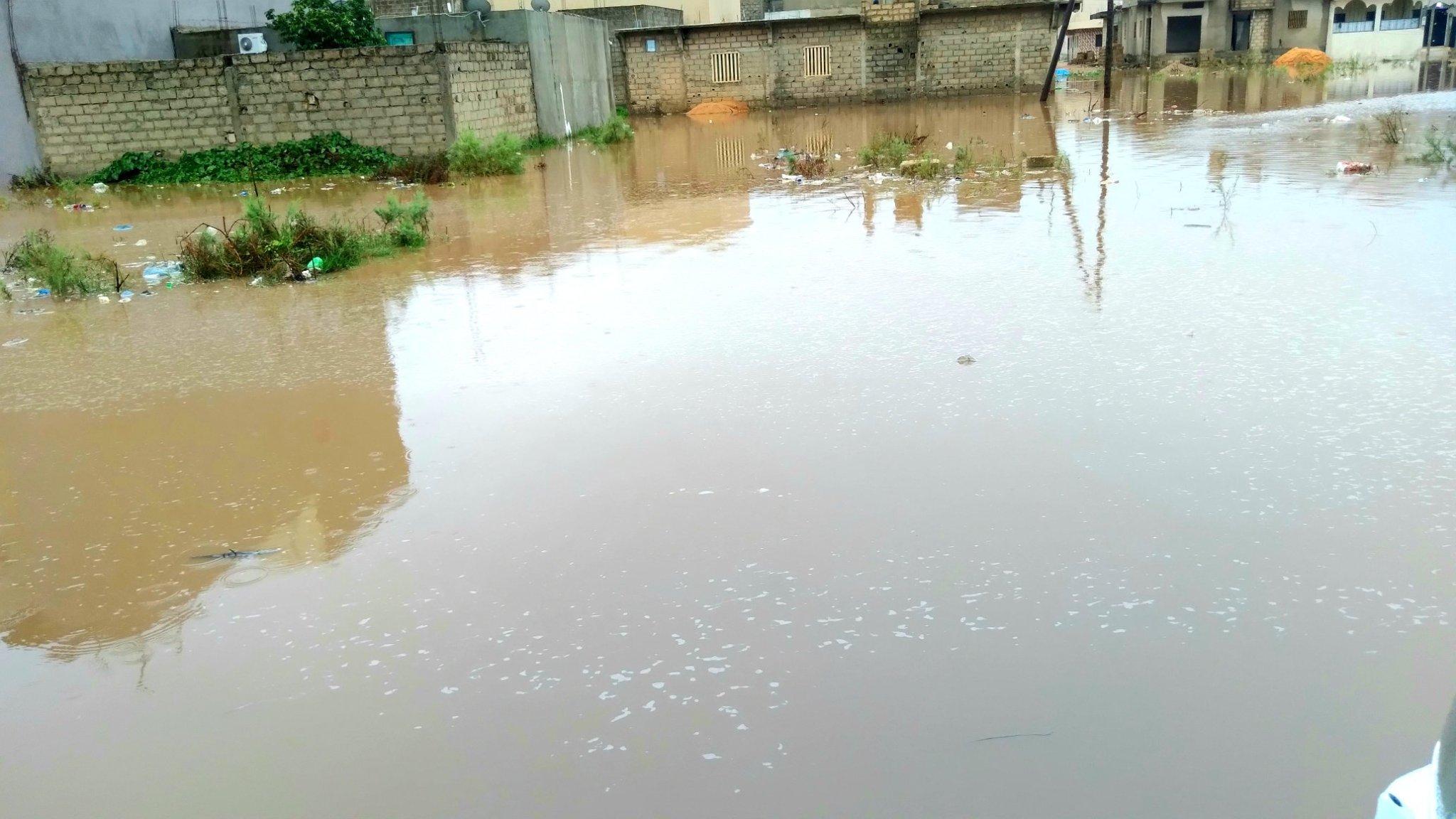 Fortes pluies à Dakar : Les inondations reprennent à Keur Massar (Photos)