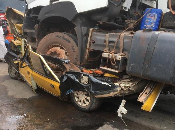 Accident grave survenu à Kaolack: La communauté portuaire au chevet des victimes du camion malien