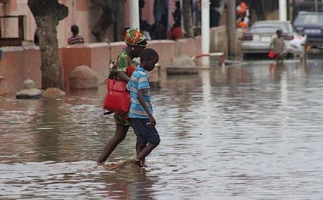 Hivernage et inondations: Fatick aussi sous les eaux
