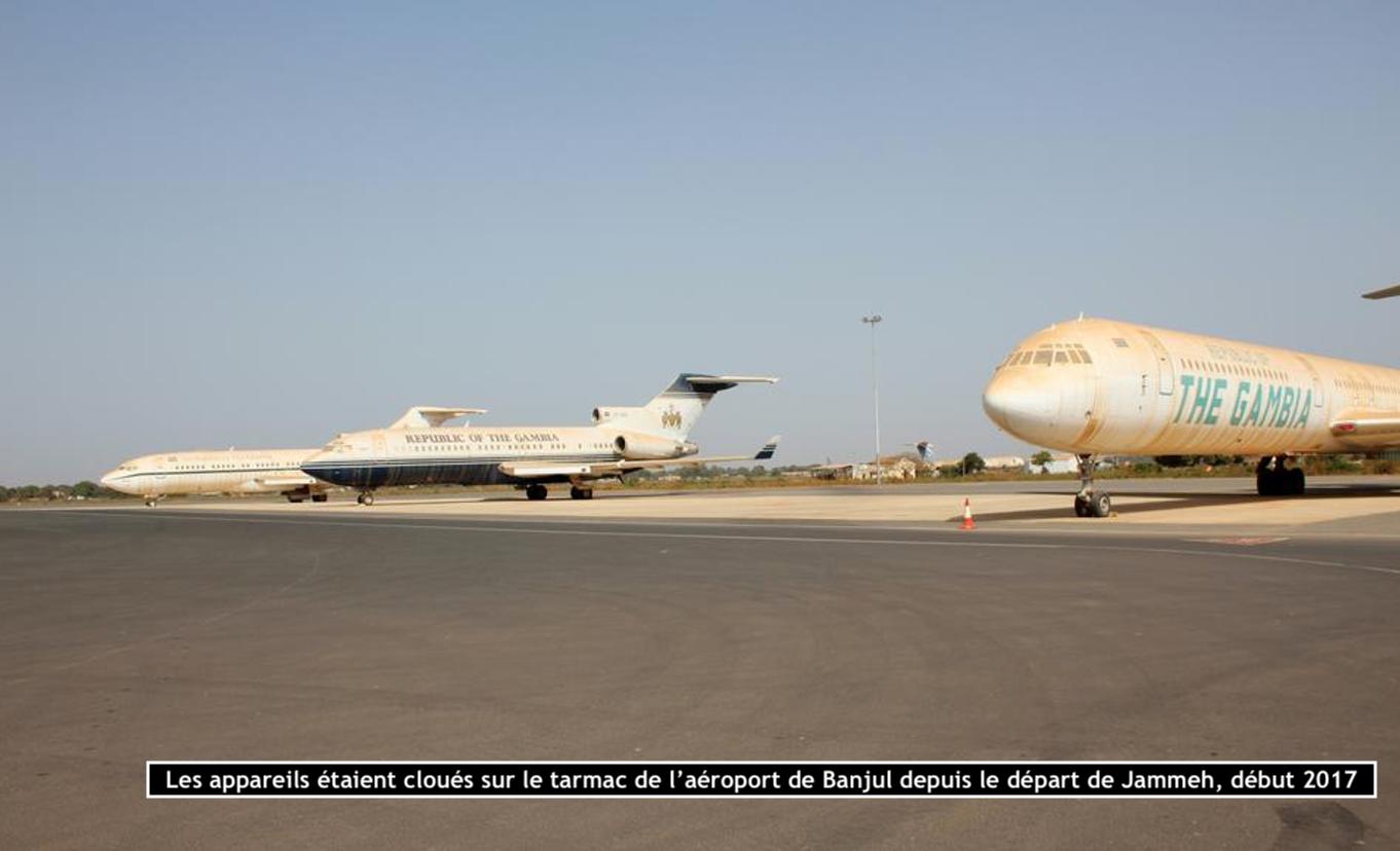 Gambie: Les avions de Yahya Jammeh cédés à 280 millions FCfa, l'Etat précise que...