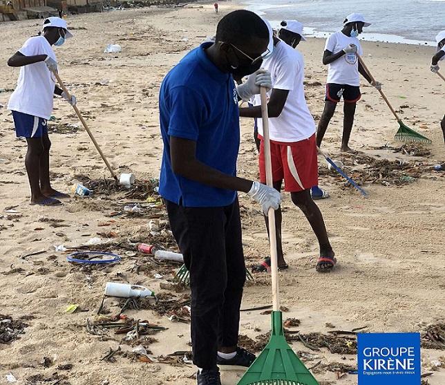 Préserver l'environnement : l'ADS et Kirène donnent un second souffle aux plages de Somone