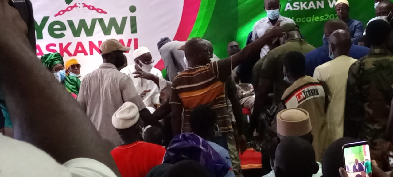 Coalition Yewwi Askane Wi: 23 partis et mouvements au front pour barrer la route à BBY