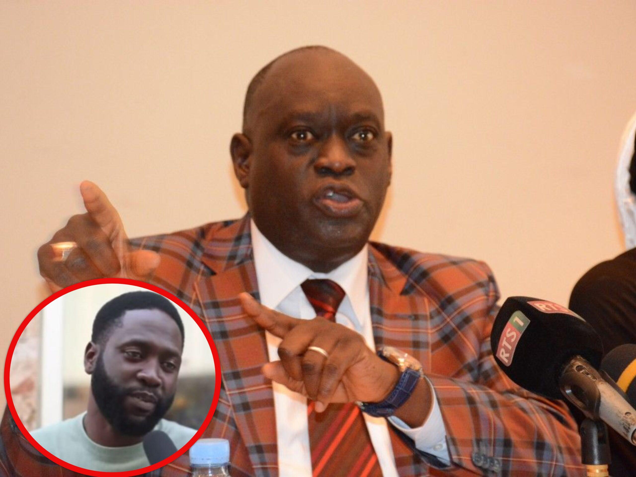 """Me El Hadji Diouf sur Kilifeu: """"Il m'a insulté à cause de son leader, Ousmane Sonko, mais ce qui lui arrive, est..."""""""