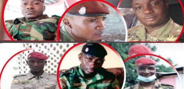 Coup d'Etat en Guinée: Au moins sept soldats de la Garde présidentielle ont été tués par Doumbouya et cie