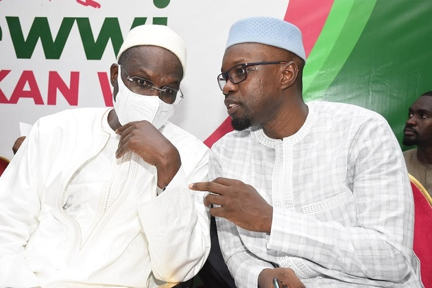 Coalition «Yewi Askan Wi»:  Rumeur sur un protocole entre Ousmane Sonko et Khalifa Sall