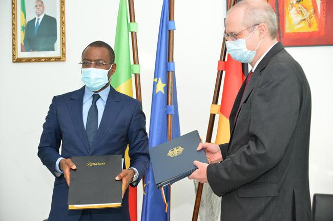 Appui financier: L'Allemagne attribue 91,8 milliards FCfa au Sénégal