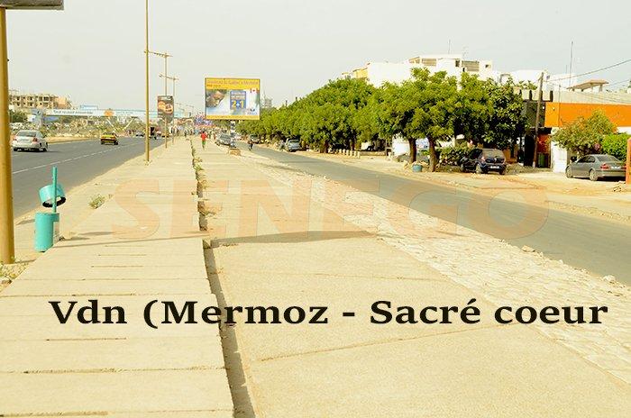 Construction d'un Centre Commercial :  Les habitants de Mermoz Sacré-Coeur en colère dénoncent un détournement d'objectif.