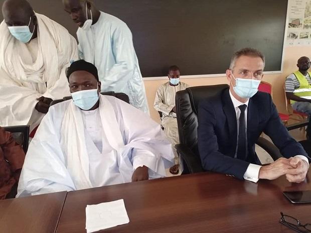 L'ambassadeur de la France à Touba: Les images d'une visite impressionnante
