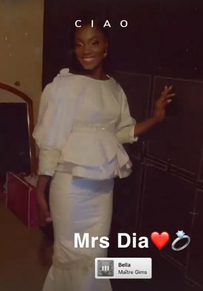 """La réception du mariage de l'actrice de la série """"Karma"""", Ndèye Marie, en images !"""