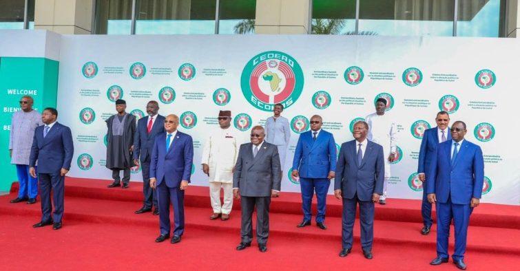 Cedeao/ Putsch en Guinée: Des «solutions durables» à la crise, préconisées