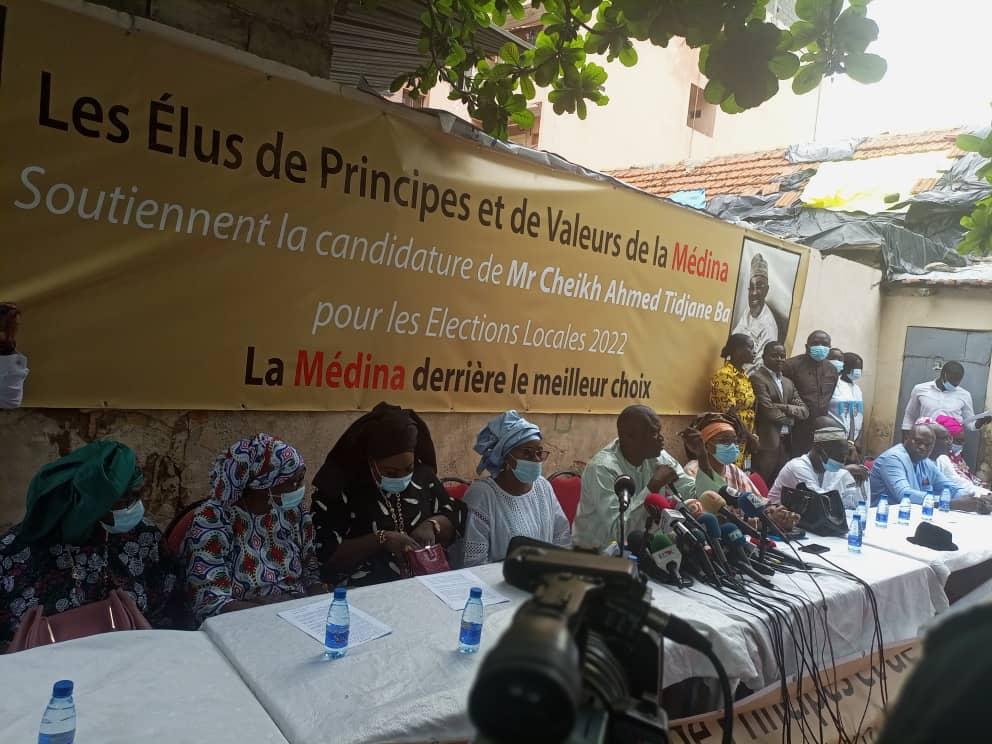 Mairie de Médina:  Des conseillers militent à l'élection de Cheikh Ahmed Tidiane Ba