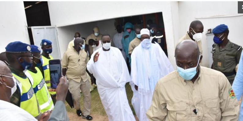 Revivez en images l'arrivée du President Macky Sall à Touba!