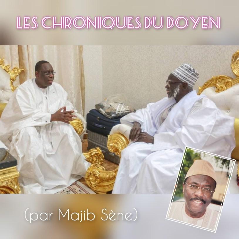 Les Chroniques du Doyen – Macky Sall, plébiscité à Touba (Par Majib Sène)