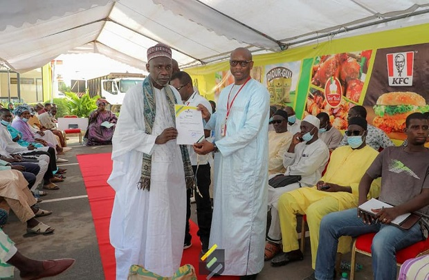 Responsabilité sociétale : la SEDIMA renforce les  lieux de cultes et familles démunies