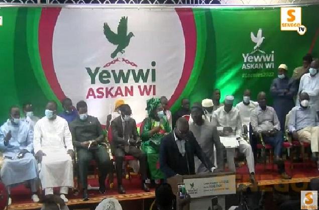 Yewwi Askan Wi se consolide: Les comités électoraux et départementaux pour les Locales, installés