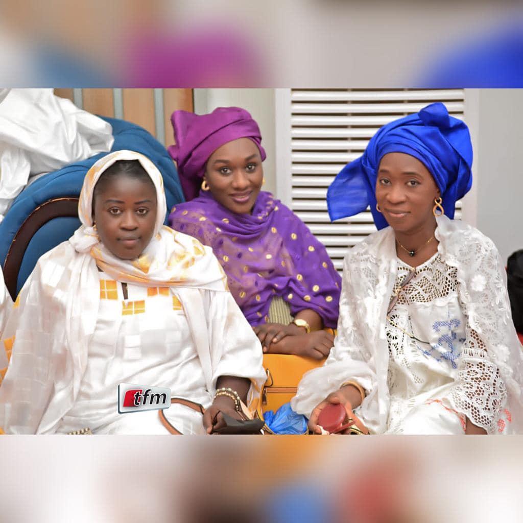 Visite de courtoisie de la délégation du Gfm à Touba: Birane Ndour et Cie chez Sokhna Balli Mountakha (Photos)