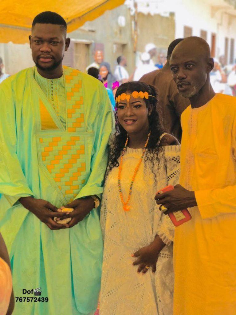 Carnet rose: Regardez les belles images du baptême de la fille de Mandione Laye!