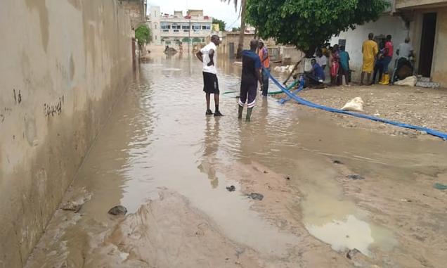 Veille de Magal 2021 à Touba: La forte pluie enregistrée hier crée des inondations