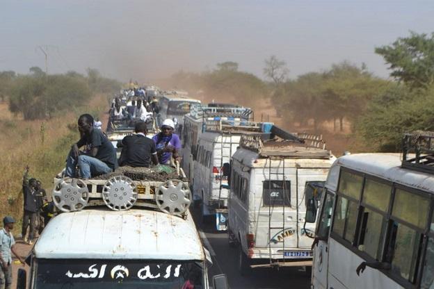 En route vers le Magal: Chauffeurs et loueurs de véhicule se frottent les mains