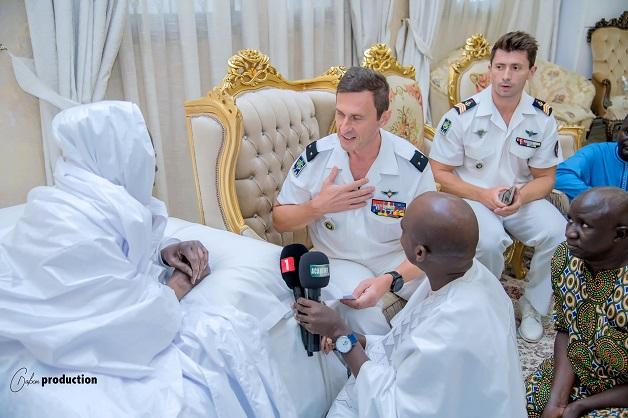 En visite à Touba pour le Grand Magal: La délégation de la Marine française reçue par Serigne Mountakha, Khalife général des Mourides
