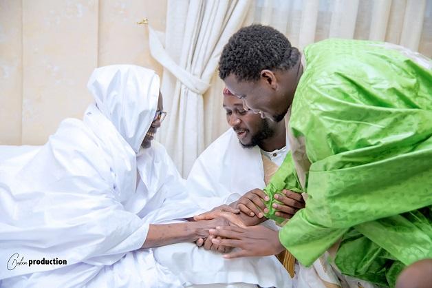 L'islam, une seule et indivisible famille :  la délégation Médina Baye à Touba chez le khalife Général des Mourides