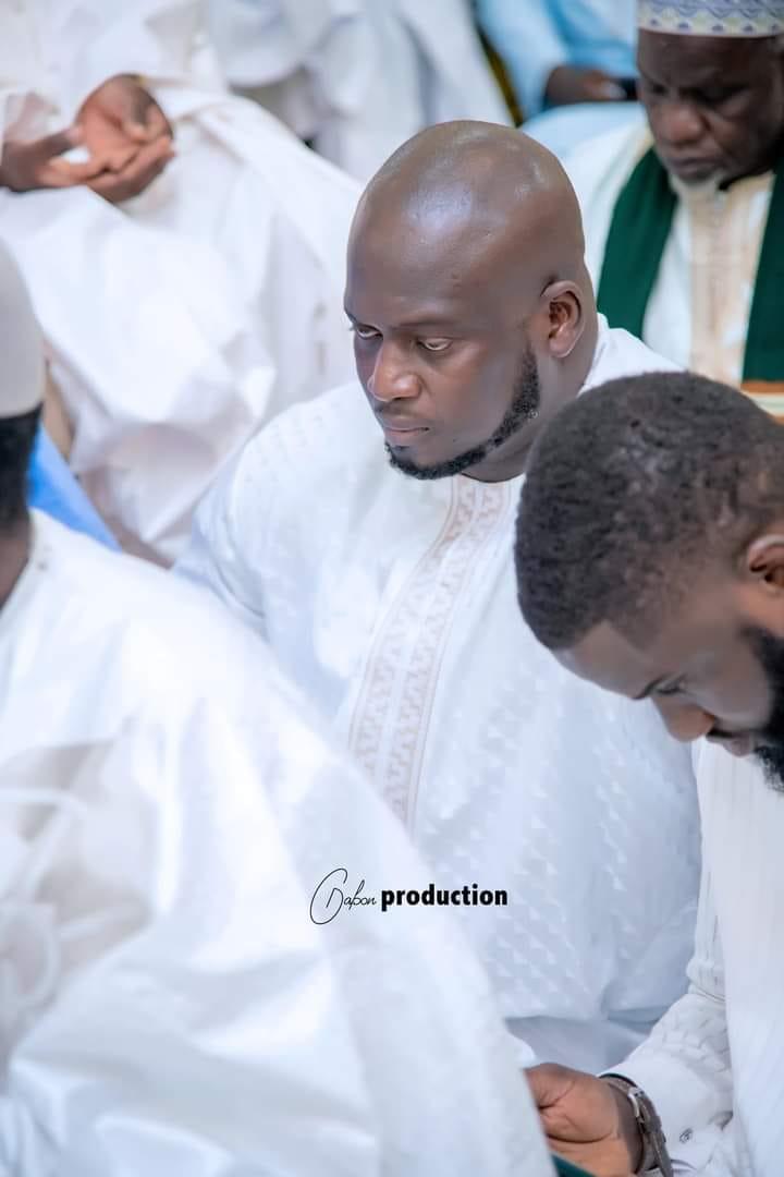 Photos / Magal de Touba 2021: Abdoul Aziz Ndiaye et Serigne Mountakha Mbacké