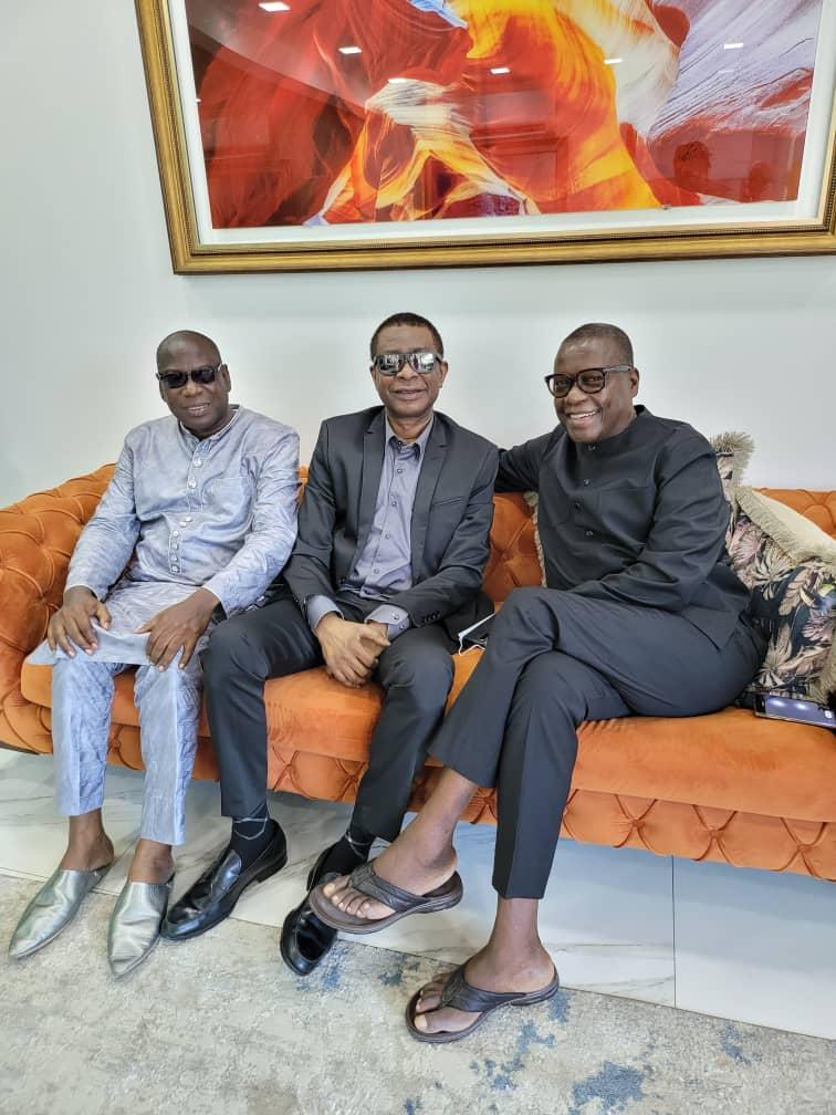 Condoléances: Youssou Ndour chez son ami de longue date, Pierre Goudiaby Atepa