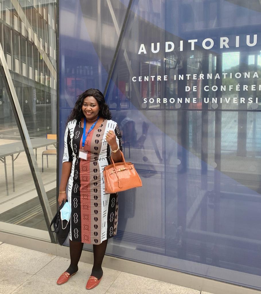 Ucad: La Doctorante Aminata Sourang Mbaye Diouf représente le Sénégal à la finale, demain, à Paris