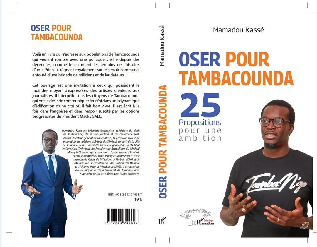 """Tambacounda / Mamadou Kassé """"ose"""", avec 25 propositions, pour une ambition"""
