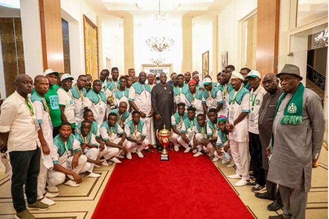 Vainqueur de la Coupe du Sénégal: Le Casa Sports honoré par Macky Sall