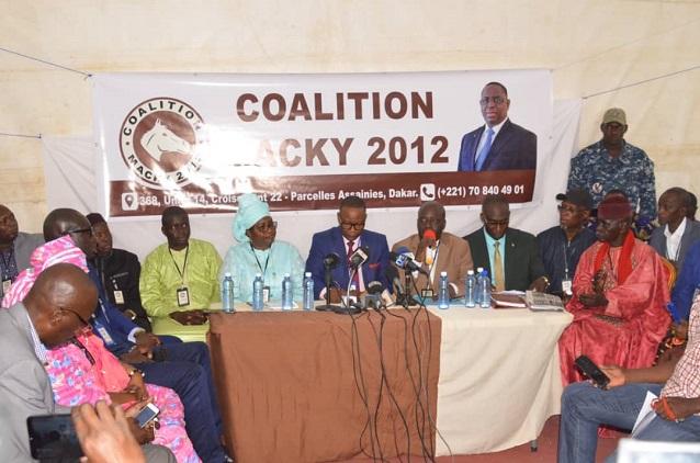 Élections locales: Les leaders de la Coalition Macky2012 invitent le chef de l'Etat à écouter la base