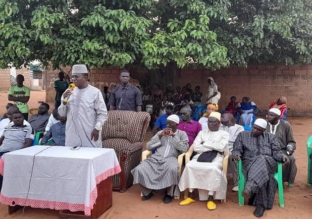 Mobilisation en vue des Élections Locales 2022 :  Mamadou Ndione ratisse large à Diass
